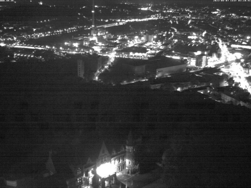 Webcam auf Ostspange Saarbrücken